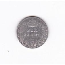 6 пенсов, Великобритания, 1910