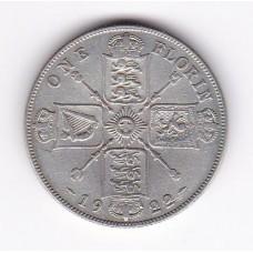 1 флорин, Великобритания, 1922