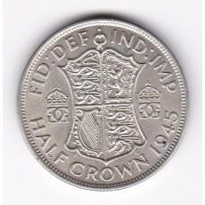 1/2 кроны, Великобритания, 1945