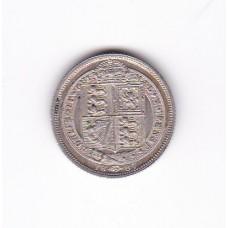 6 пенсов, Великобритания, 1887