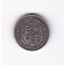 6 пенсов, Великобритания, 1816