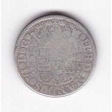 2 реала, Испания, 1757