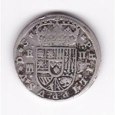 2 реала, Испания, 1717