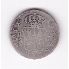 2 реала, Испания, 1777