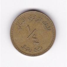 1/4 рияла, Оман, 1980