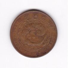 10 кэш, Китай (Ляонин), 1905