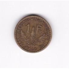 1 франк, Того, 1924
