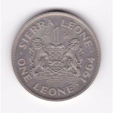 1 леоне, Сьерра-Леоне, 1964