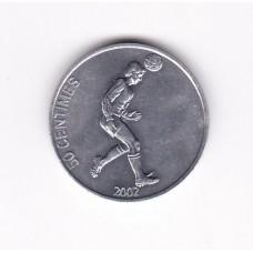 50 сантимов, Конго, 2002