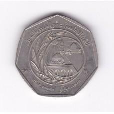 1/2 динара, Иордания, 1980
