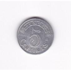 5 сантимов, нотгельд, Марсель, Франция, 1916