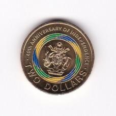 2 доллара, Соломоновы острова, 2018