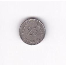25 пенни, Финляндия, 1928