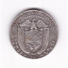 1/2 бальбоа, Панама, 1947