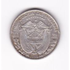 1/2 бальбоа, Панама, 1953